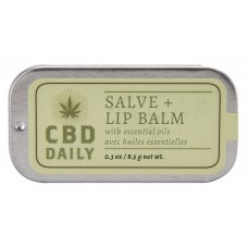 CBD Daily Salve & Lip Balm