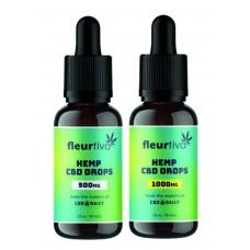 CBD Fleurtiva Hemp Drops